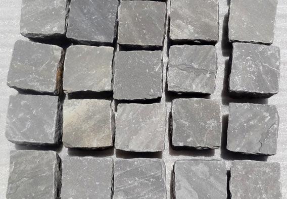 86d0ddeaae4 Black Sandstone Cobbles