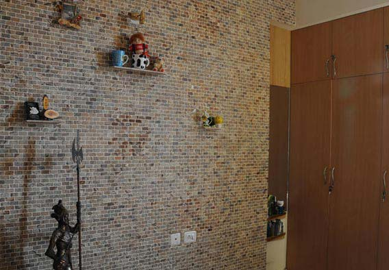 Brick Pattern 2x1 - Rainforest Brown Cladding