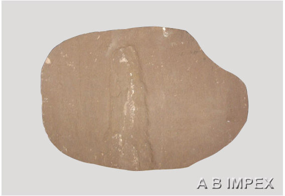 Brown Sandstone Stepping Stone