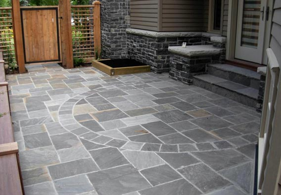 Geneva Dark Ashlar Pattern Flag Stone
