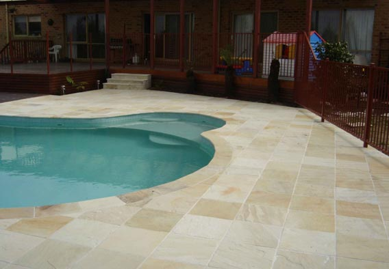 Pool Surrounds Natural Stone Pool Surrounds Pool Decks