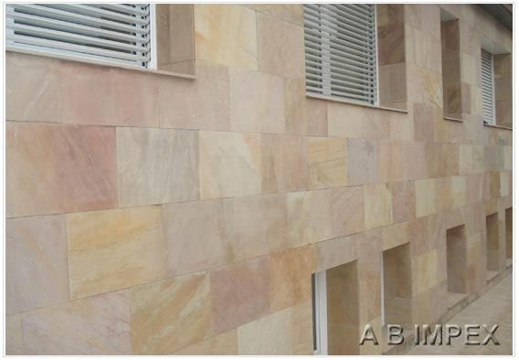 Modak Sandstone Tiles Cladding