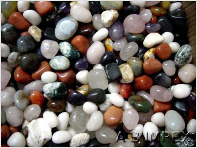 Mix Polished Stone Pebble