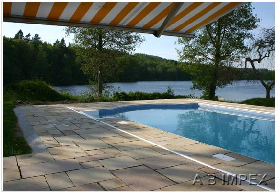 Rippon Natural Stone Pool Surround