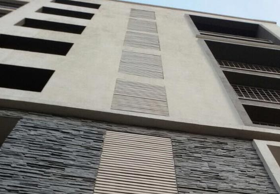 Silver Grey Slate Cladding