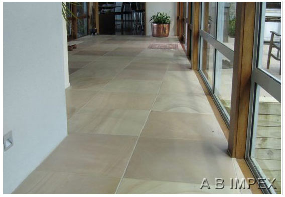 Off White Honed Sandstone