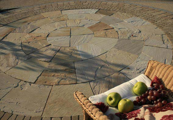 Tint Mint Sandstone Circle
