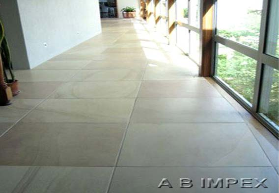 Peach Yellow Honed Sandstone