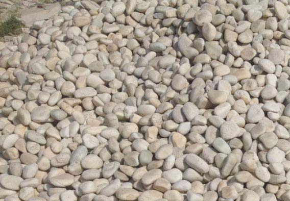 White Stone Pebbles