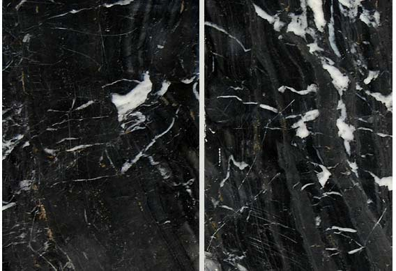 Zebra Black Marble Polished